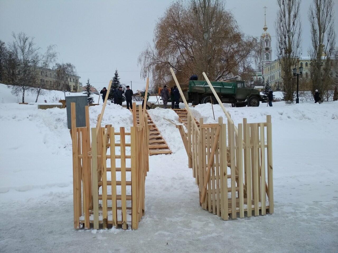 В Тамбове оборудовали места для крещенских купаний, фото-2