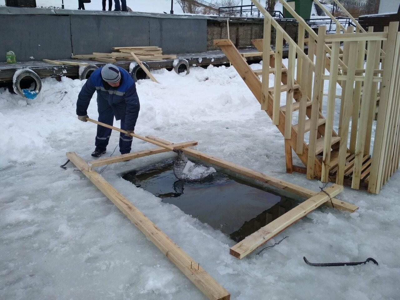 В Тамбове оборудовали места для крещенских купаний, фото-1