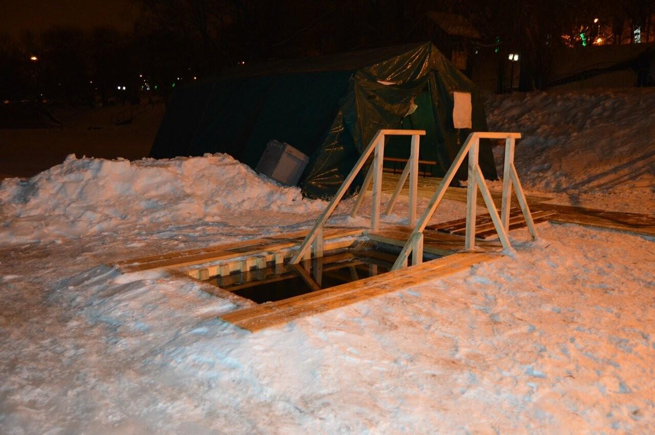 В Тамбове начались крещенские купания в проруби , фото-4