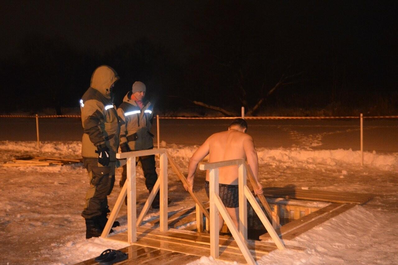 В Тамбове начались крещенские купания в проруби , фото-6