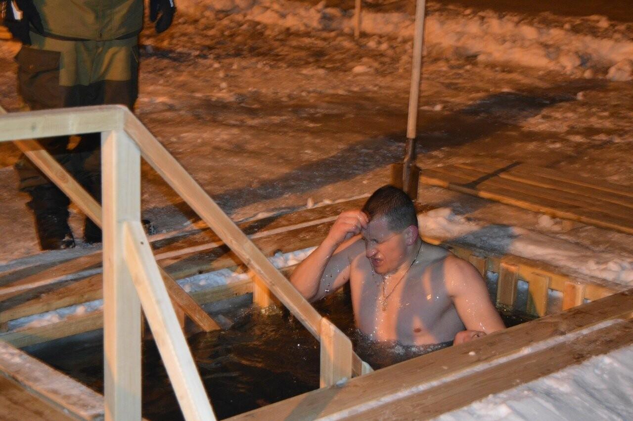 В Тамбове начались крещенские купания в проруби , фото-11
