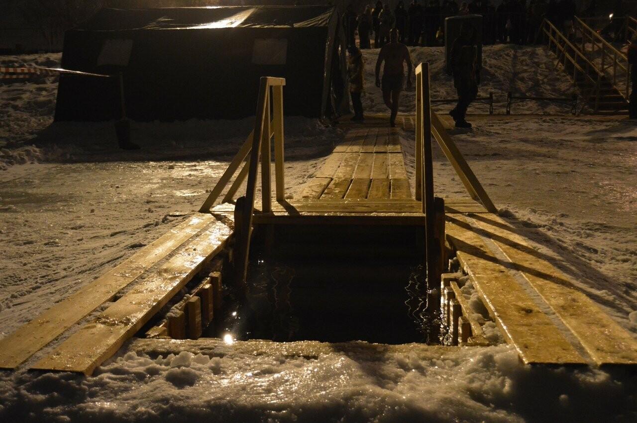 В Тамбове начались крещенские купания в проруби , фото-15