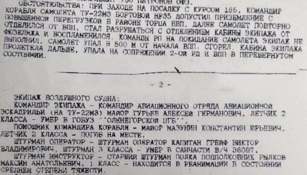 В Сети появилось видео катастрофы самолета Ту-22М3, в которой погиб тамбовский пилот, фото-1