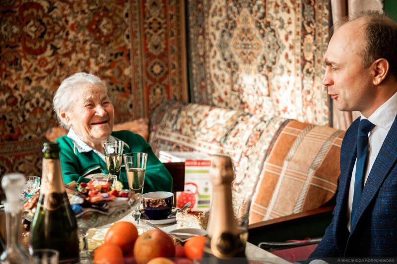 Тамбовчанка отпраздновала 100-летний юбилей , фото-2
