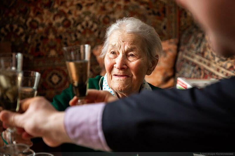 Тамбовчанка отпраздновала 100-летний юбилей , фото-4