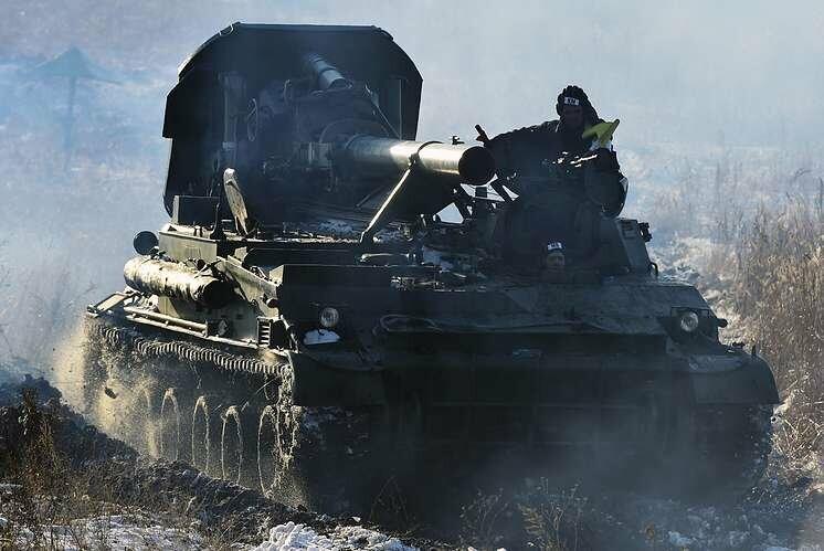Самые мощные в мире минометы вышли на учения в Тамбовской области , фото-1