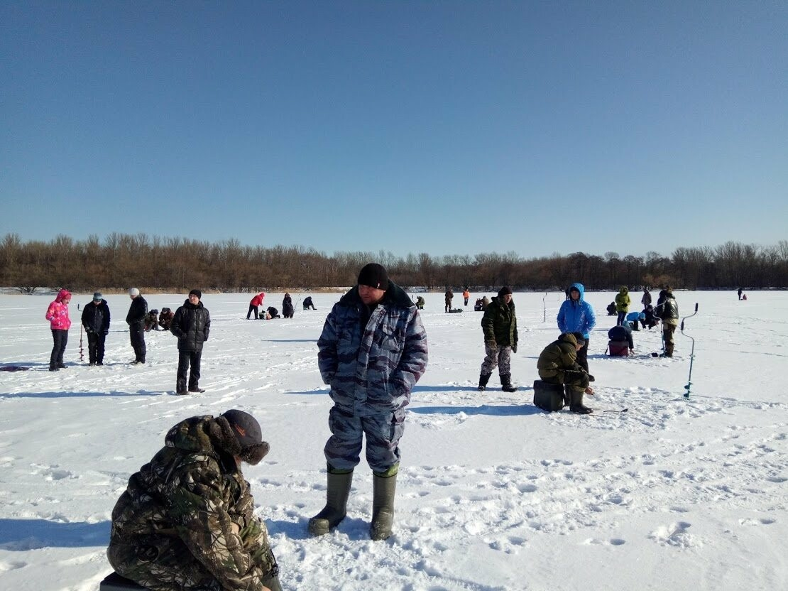 Ни хвоста, ни чешуи: в Тамбове провели детские соревнования по зимней рыбалке, фото-3