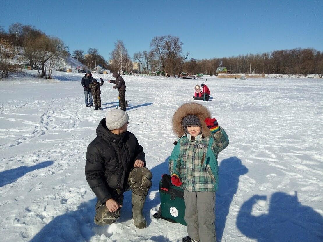 Ни хвоста, ни чешуи: в Тамбове провели детские соревнования по зимней рыбалке, фото-5