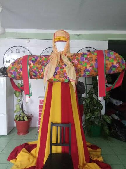 На Масленицу в Тамбове сожгут трехметровую куклу в шикарной юбке, фото-3