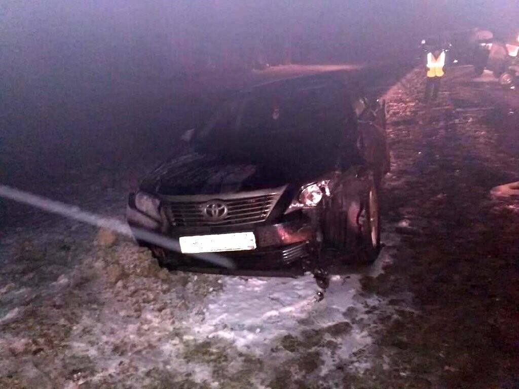 В Мичуринском районе при столкновении четырех машин погиб мужчина, фото-1