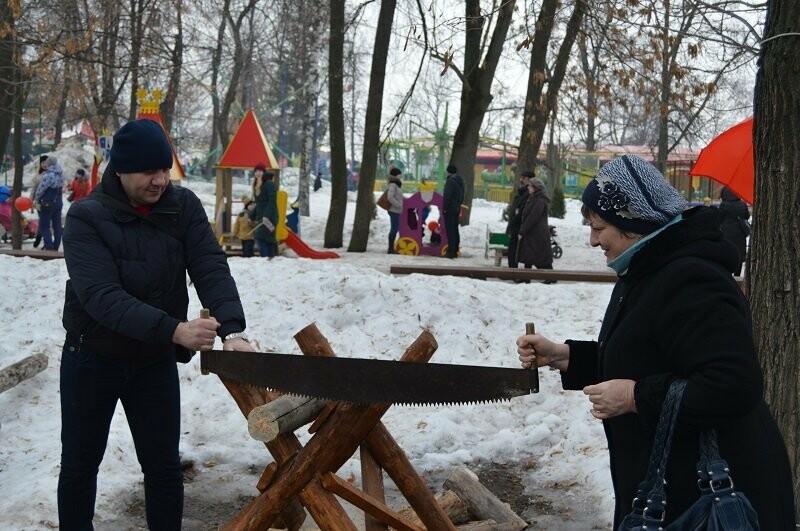 Тысячи тамбовчан отметили широкую Масленицу в Парке культуры, фото-3
