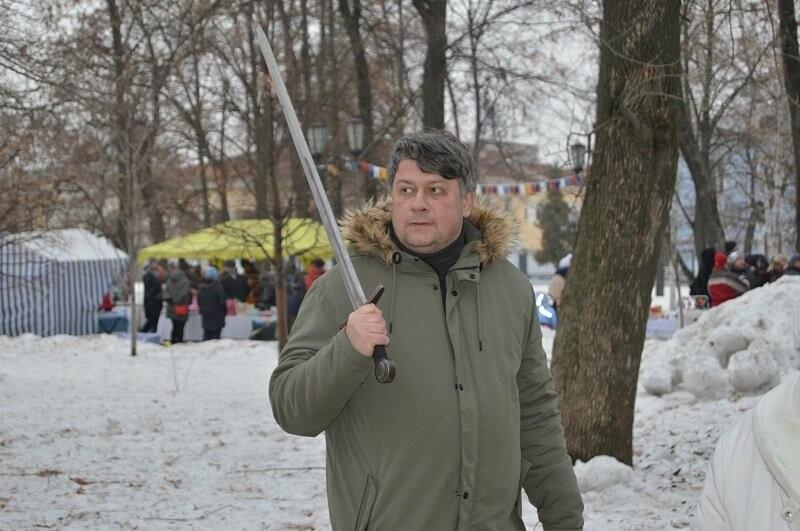 Тысячи тамбовчан отметили широкую Масленицу в Парке культуры, фото-8