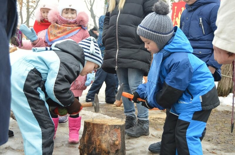Тысячи тамбовчан отметили широкую Масленицу в Парке культуры, фото-16