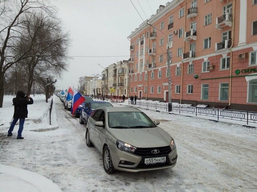 Тамбовчане встретили «Крымскую весну» автопробегом по области, фото-5