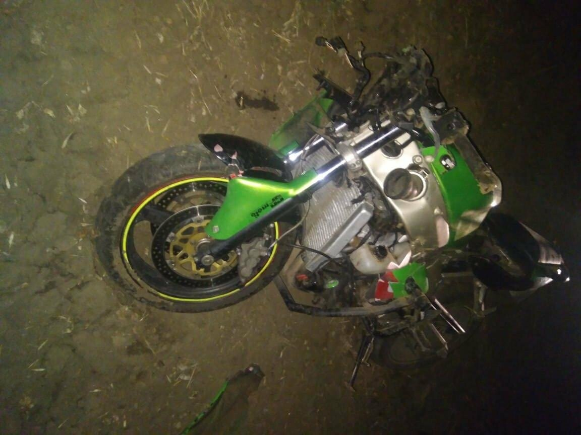 В Тамбовской области на трассе погибли два мотоциклиста, фото-1