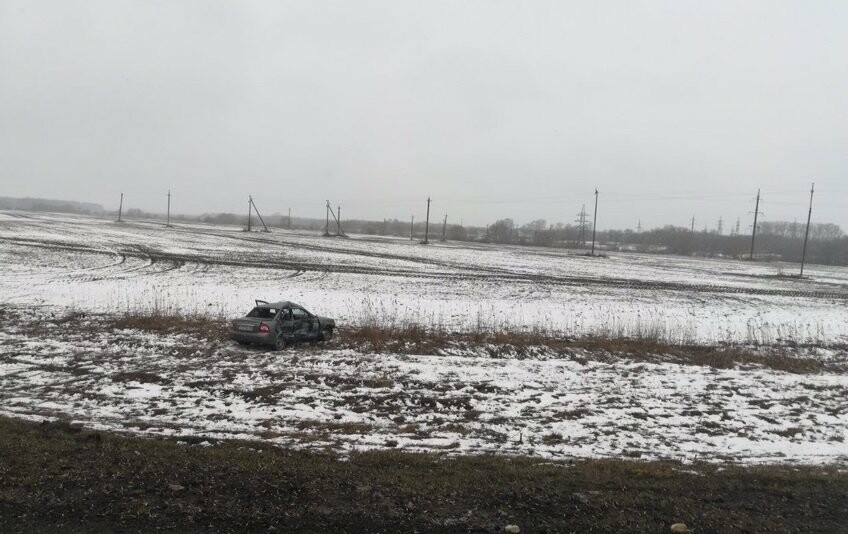 На трассе «Тамбов-Воронеж» столкнулись «Лада» и «Jeep»: есть пострадавший, фото-3