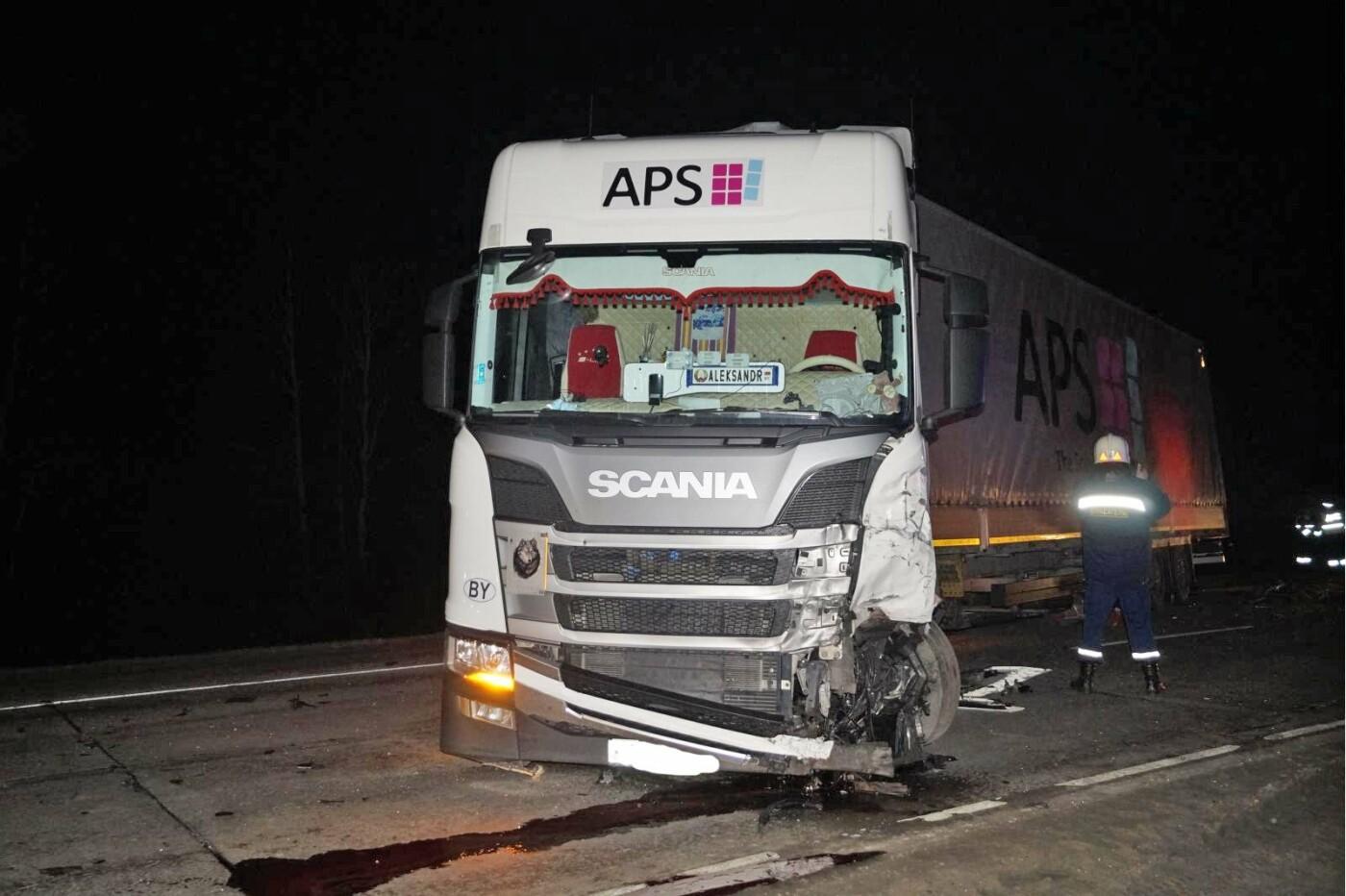 В Тамбовской области на трассе Р-22 при столкновении фуры и «семерки» погибли два парня, фото-2