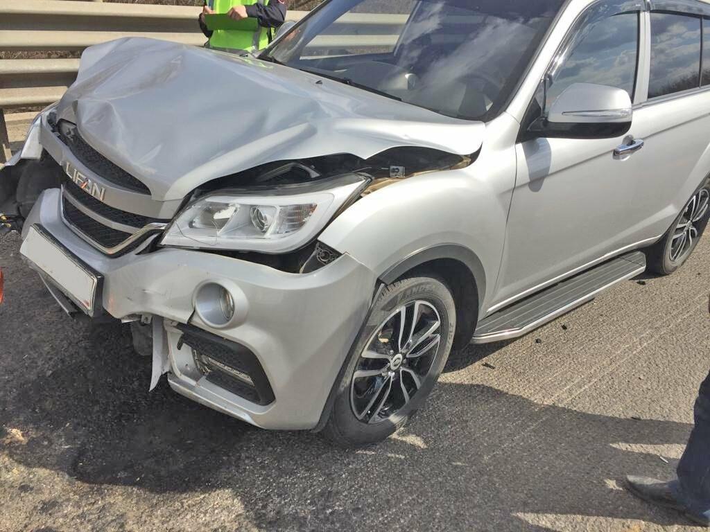 В Тамбовской области на федеральной трассе Р-22 в тройном ДТП пострадал ребенок, фото-1