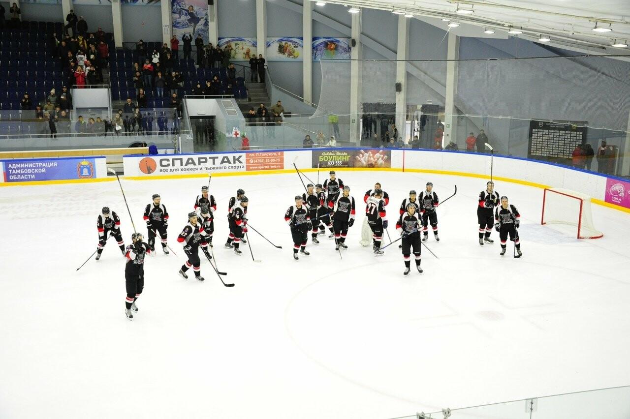 Хоккейный клуб «Тамбов» проведет товарищеский матч с болельщиками, фото-1