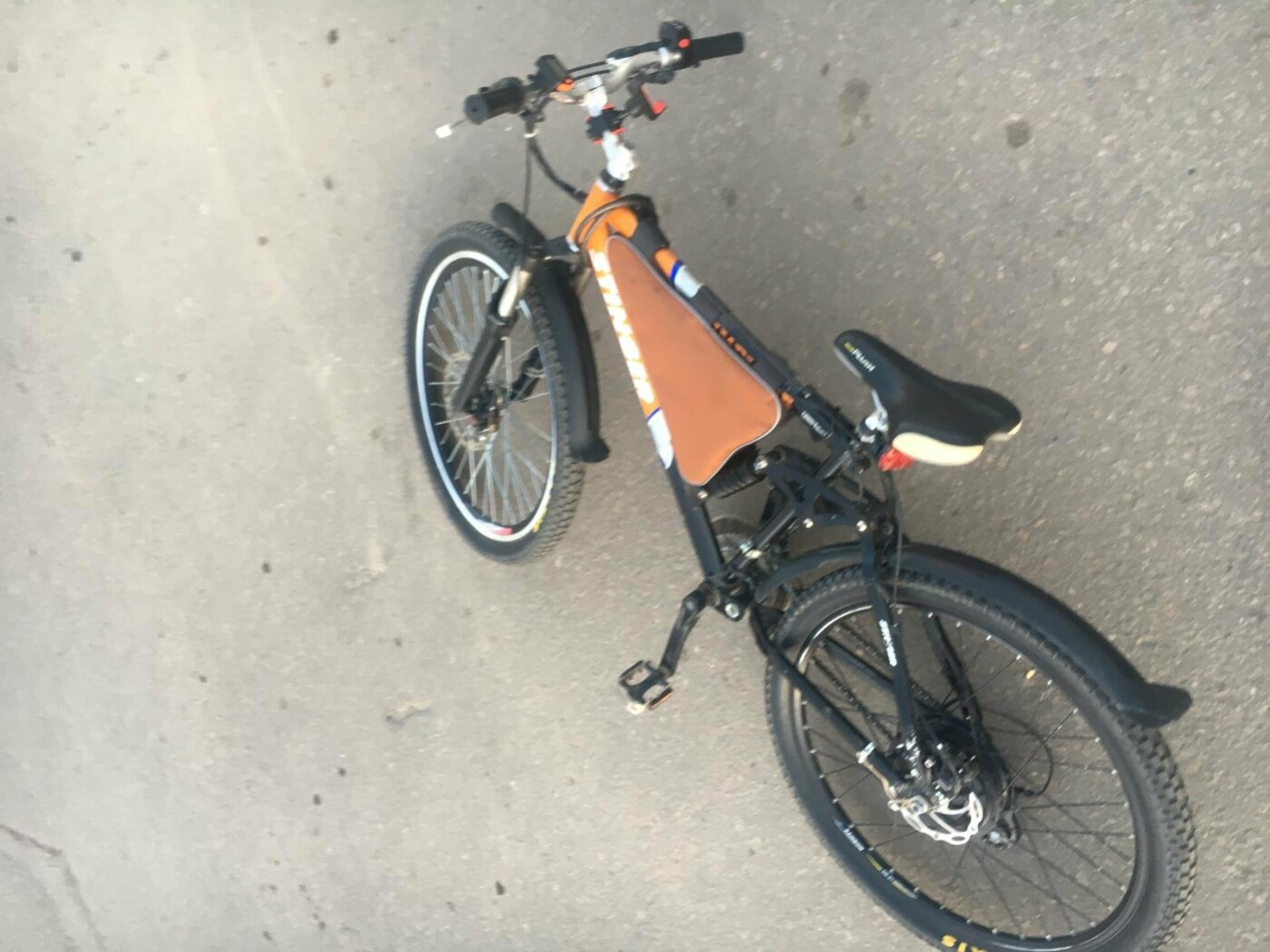 В Тамбове кроссовер сбил велосипедиста, фото-1