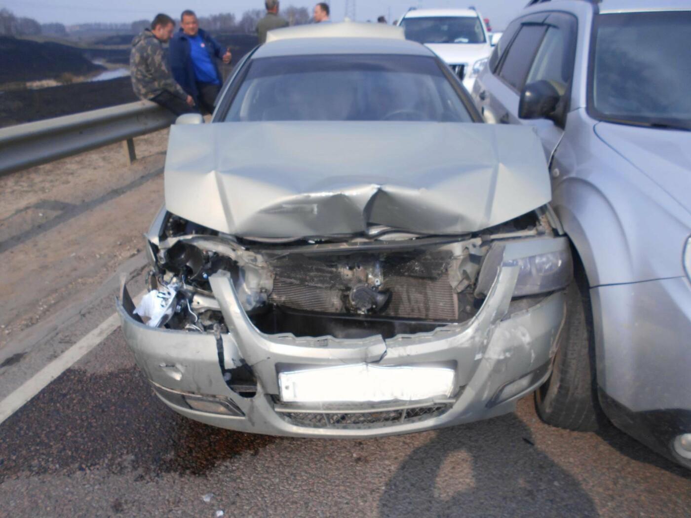 На Северном обходе Тамбова при столкновении четырех машин пострадал грудной ребенок, фото-2