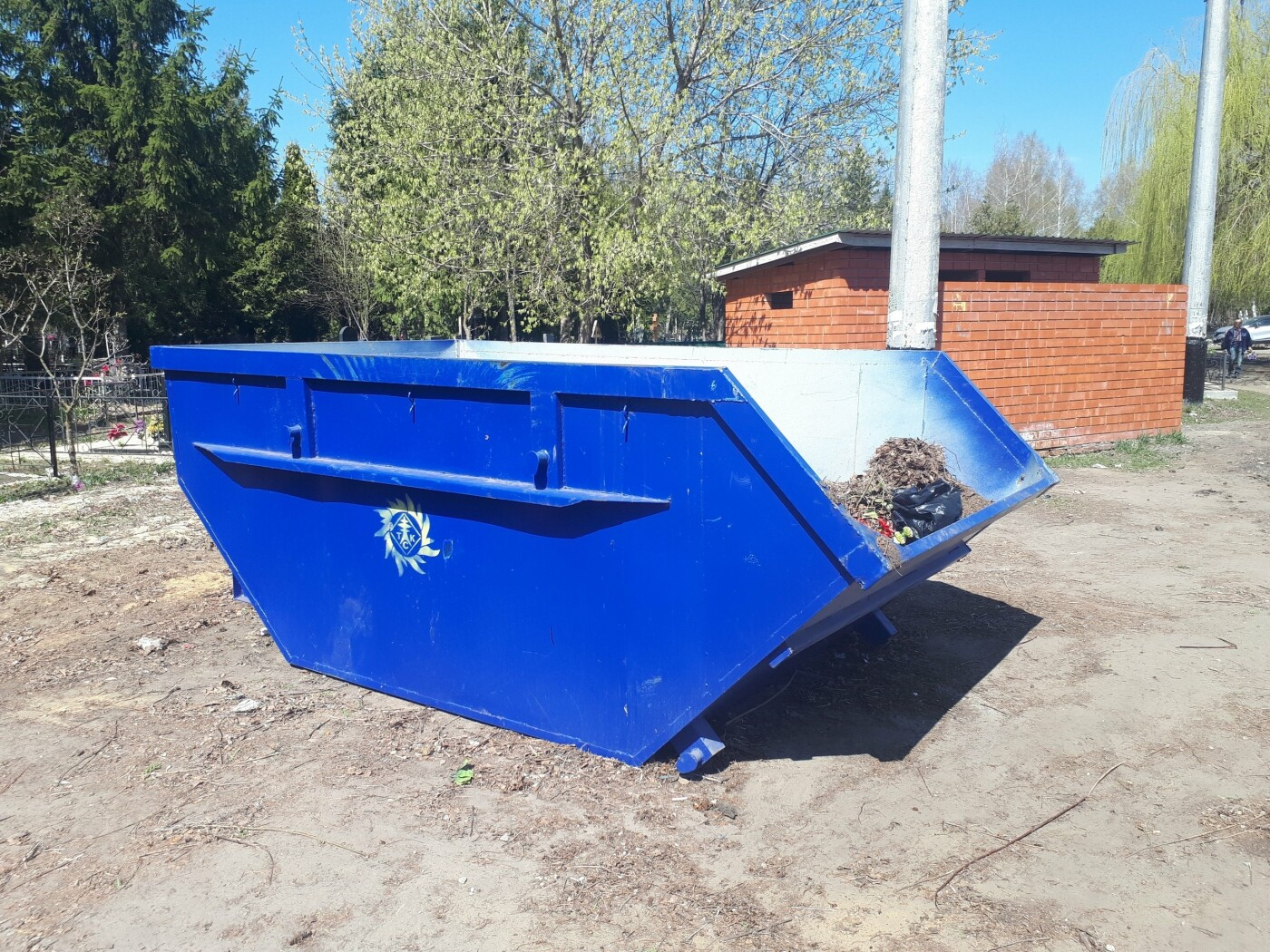 В Тамбове «ТСК» вывозит мусор с городских кладбищ, фото-2