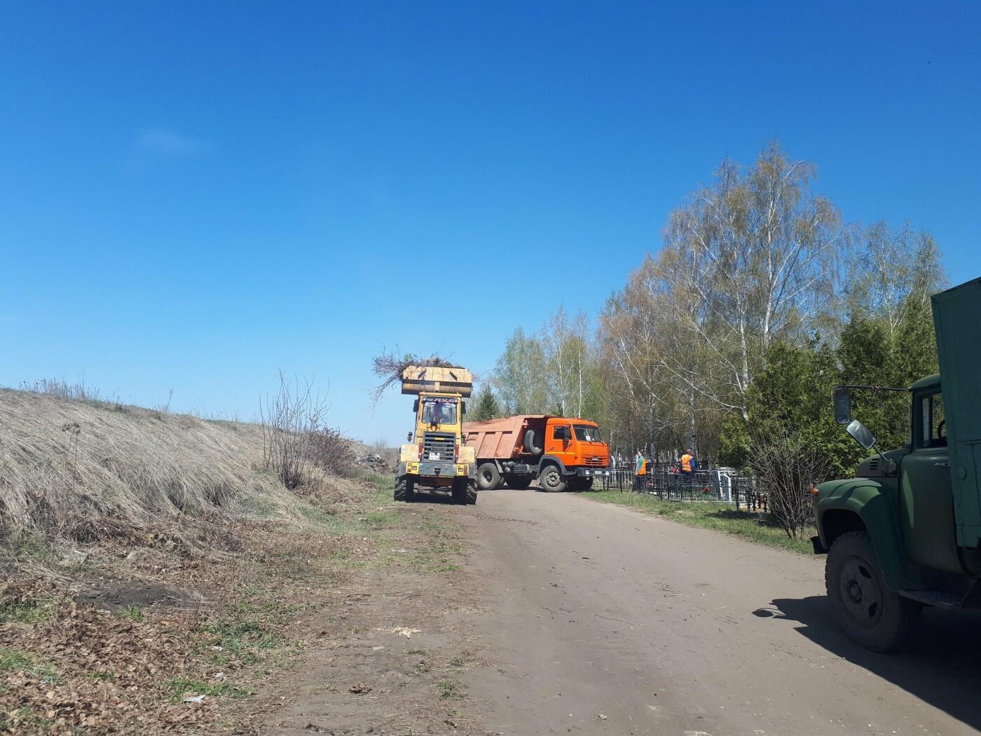 В Тамбове «ТСК» вывозит мусор с городских кладбищ, фото-4