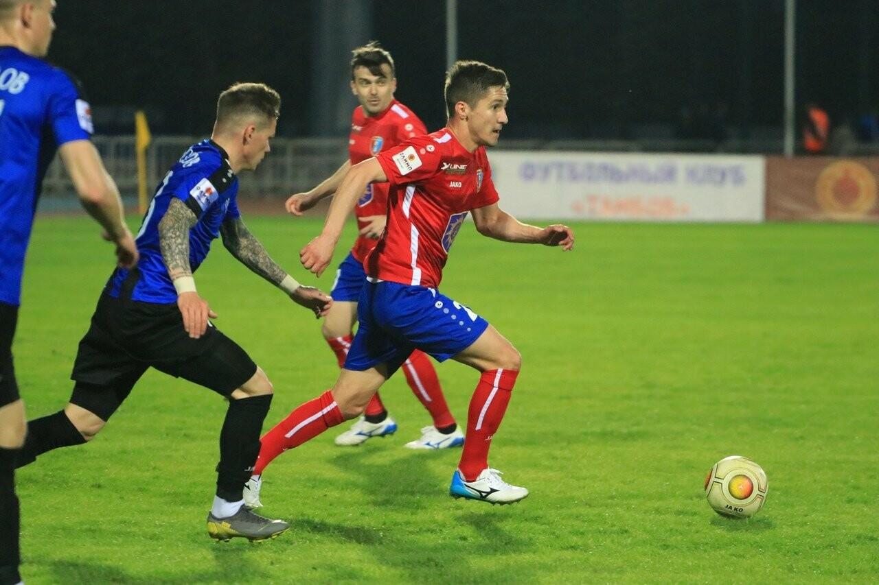 ФК «Тамбов» выигрывает в первом матче под руководством Александра Григоряна, фото-1