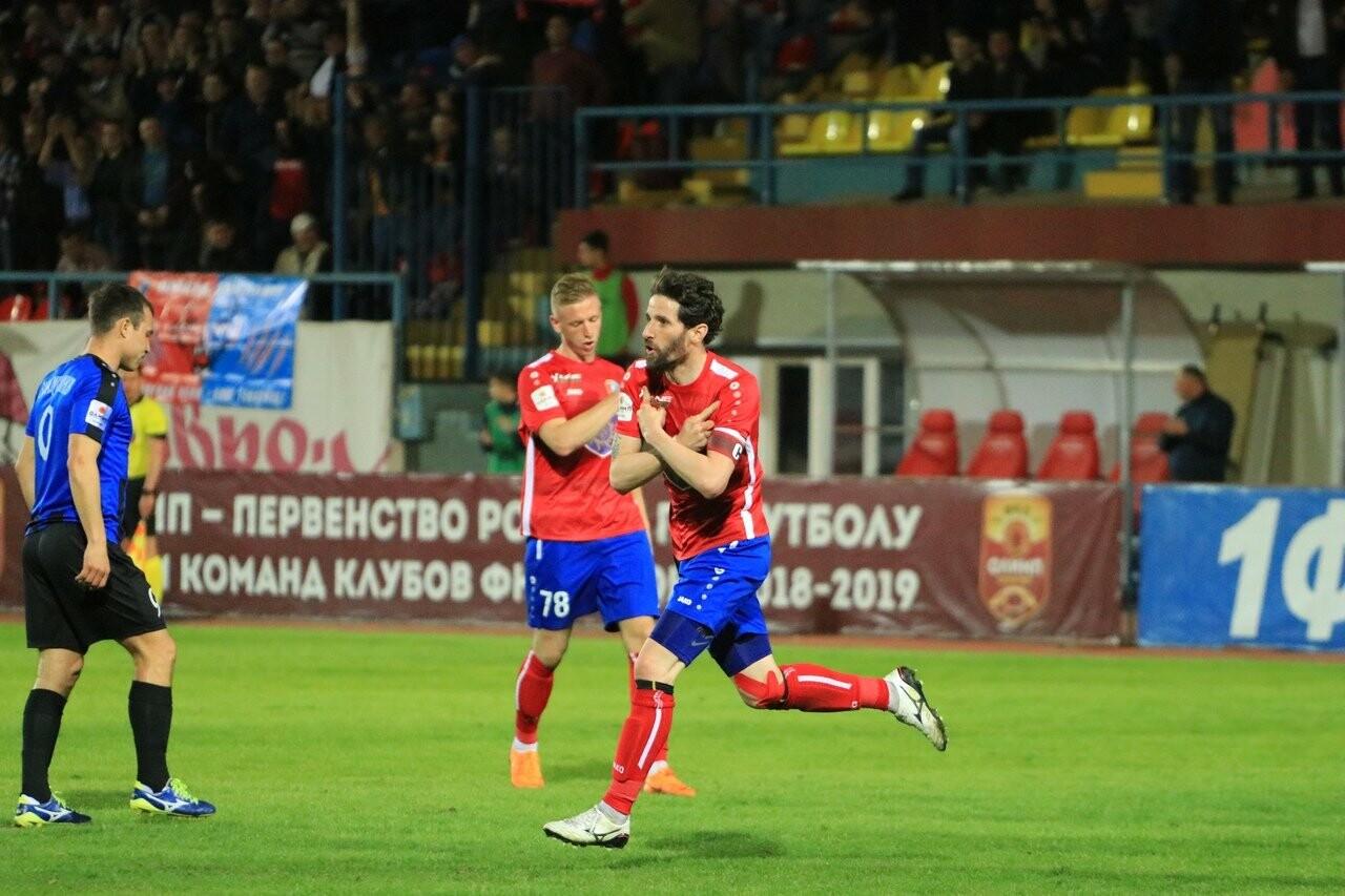 ФК «Тамбов» выигрывает в первом матче под руководством Александра Григоряна, фото-2