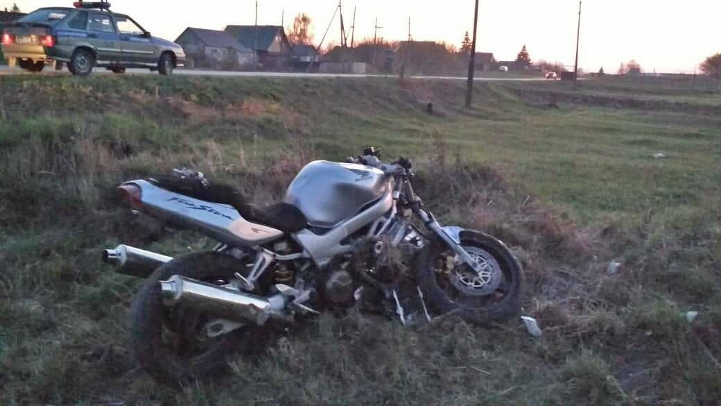 В Тамбовской области два мотоциклиста попали в больницу после ДТП, фото-2