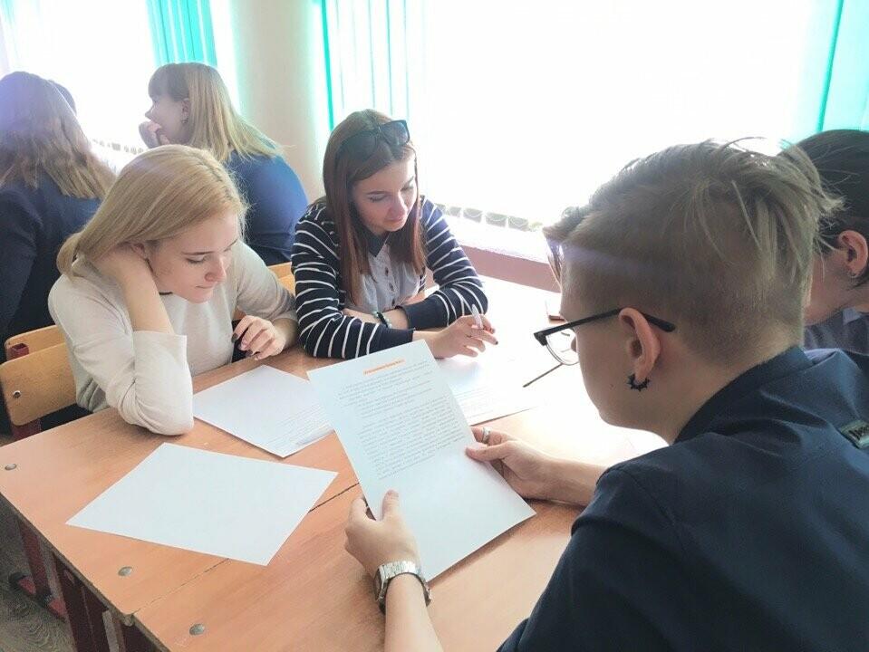 Тамбовский филиал РАНХиГС провел деловую игру для учеников СОШ №31, фото-1