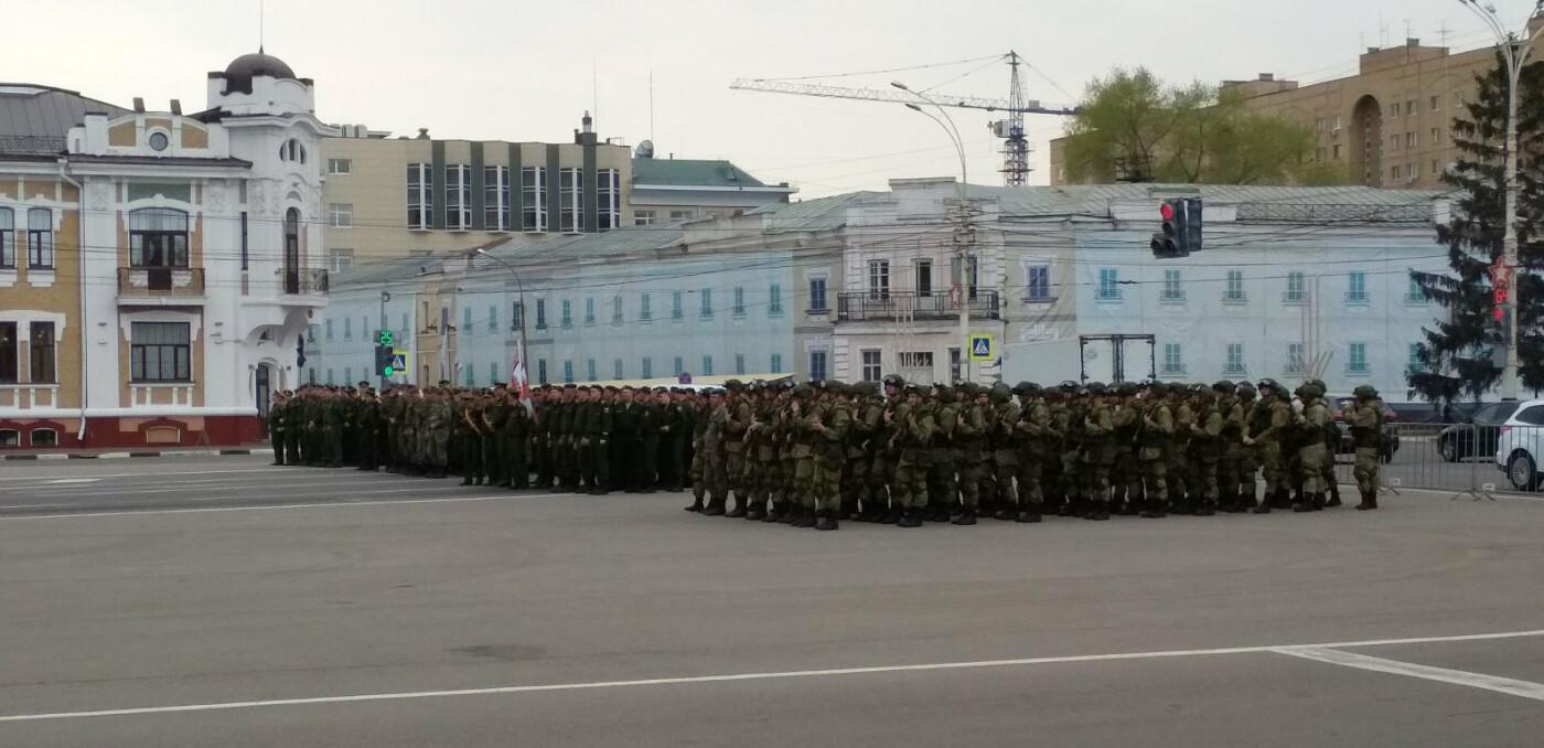 В Тамбове провели первую репетицию торжественного шествия ко Дню Победы, фото-1