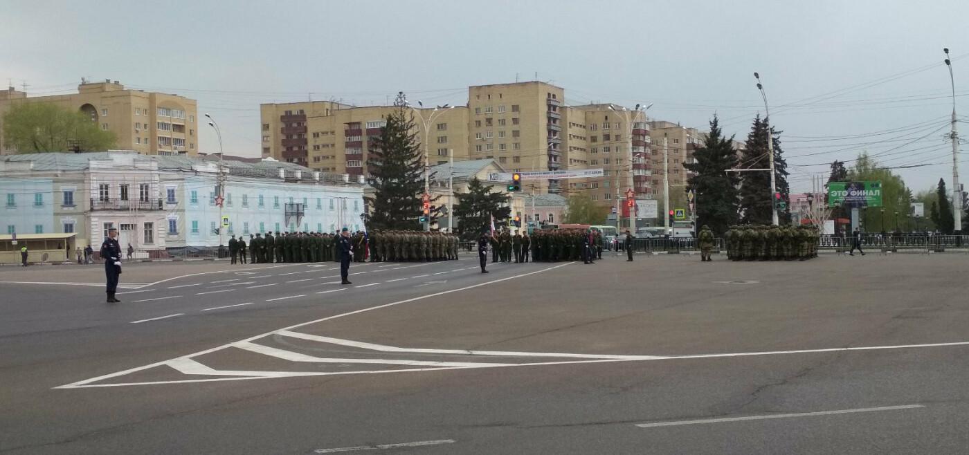 В Тамбове провели первую репетицию торжественного шествия ко Дню Победы, фото-3
