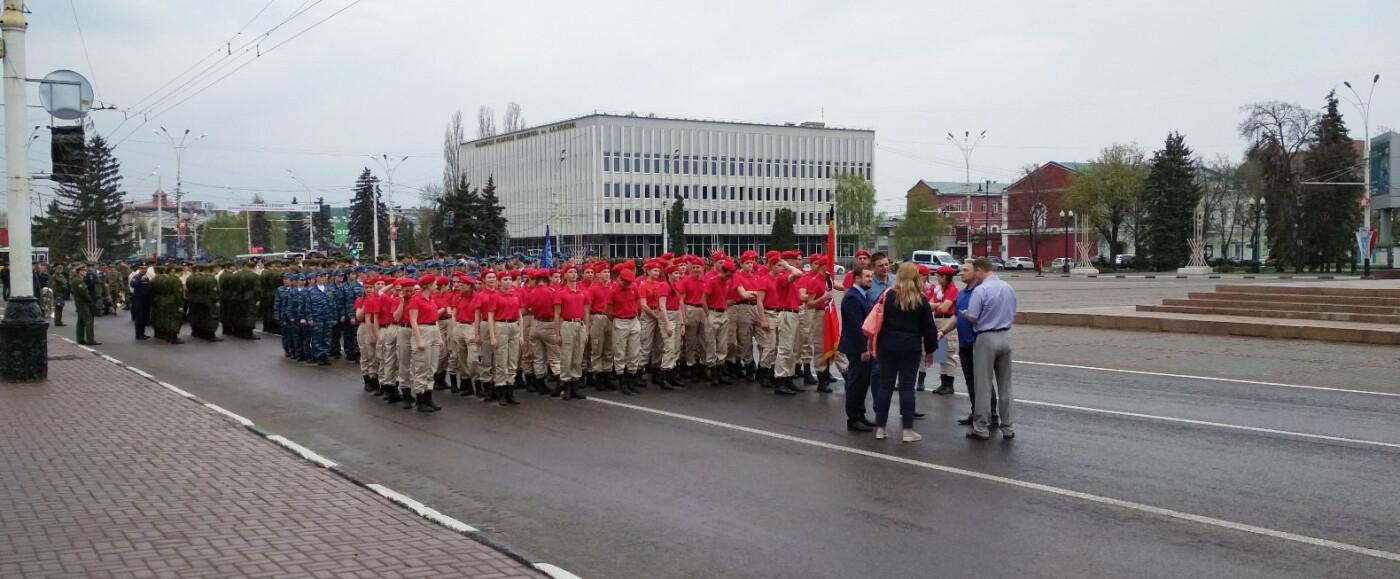 В Тамбове провели первую репетицию торжественного шествия ко Дню Победы, фото-4