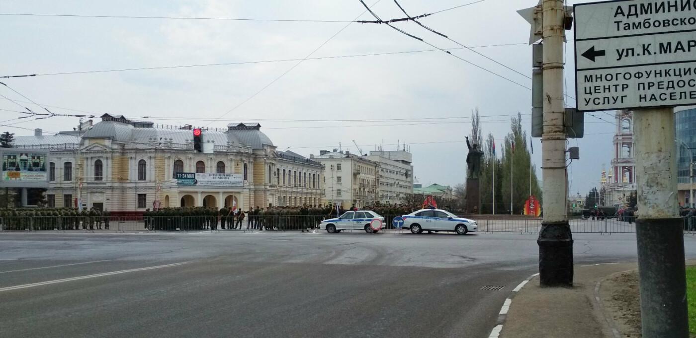 В Тамбове провели первую репетицию торжественного шествия ко Дню Победы, фото-5