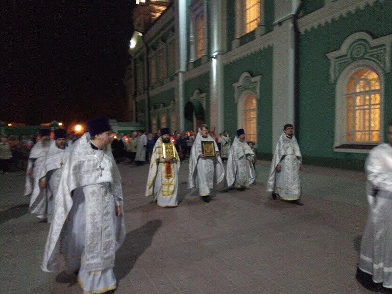 Православные тамбовчане встретили светлый праздник Христовой Пасхи, фото-3
