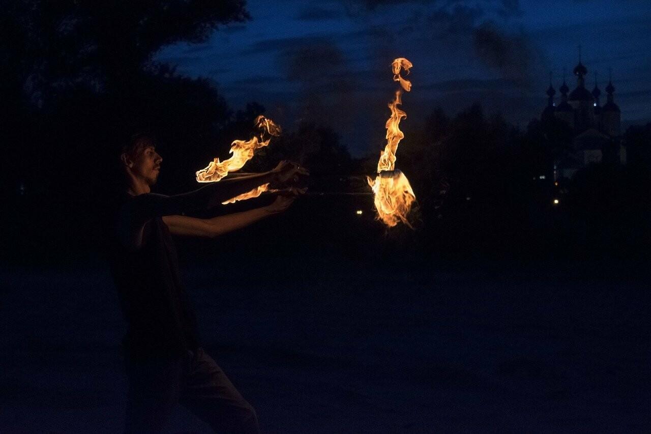 В Тамбове фаерщики откроют летний сезон огненным шоу, фото-1
