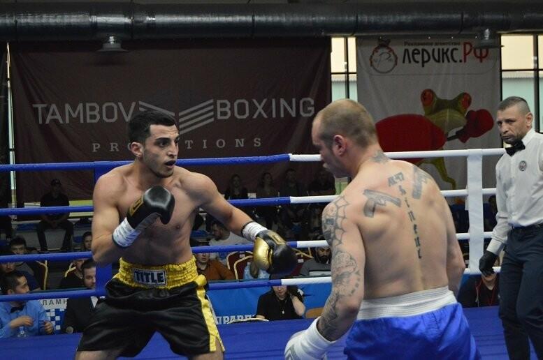 Тамбовский боксер Пеле Садоян – интернациональный чемпион по версии ProBoxing, фото-1
