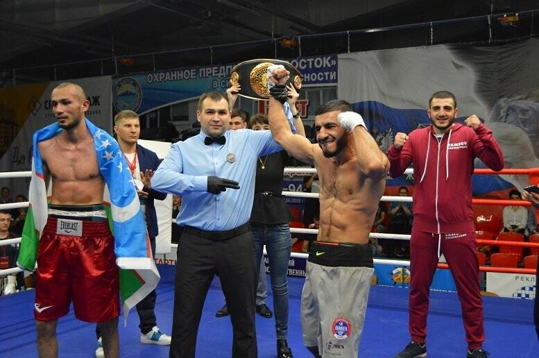 Тамбовский боксер Пеле Садоян – интернациональный чемпион по версии ProBoxing, фото-37