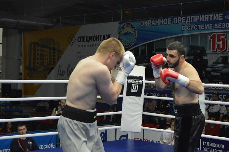 Тамбовский боксер Пеле Садоян – интернациональный чемпион по версии ProBoxing, фото-20
