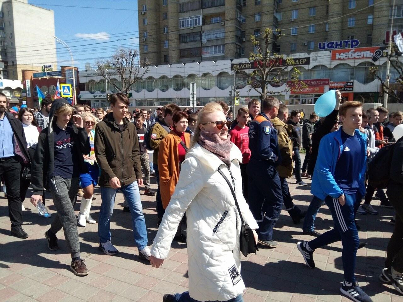 В Тамбове на первомайскую демонстрацию вышли более 22 тысяч человек, фото-2