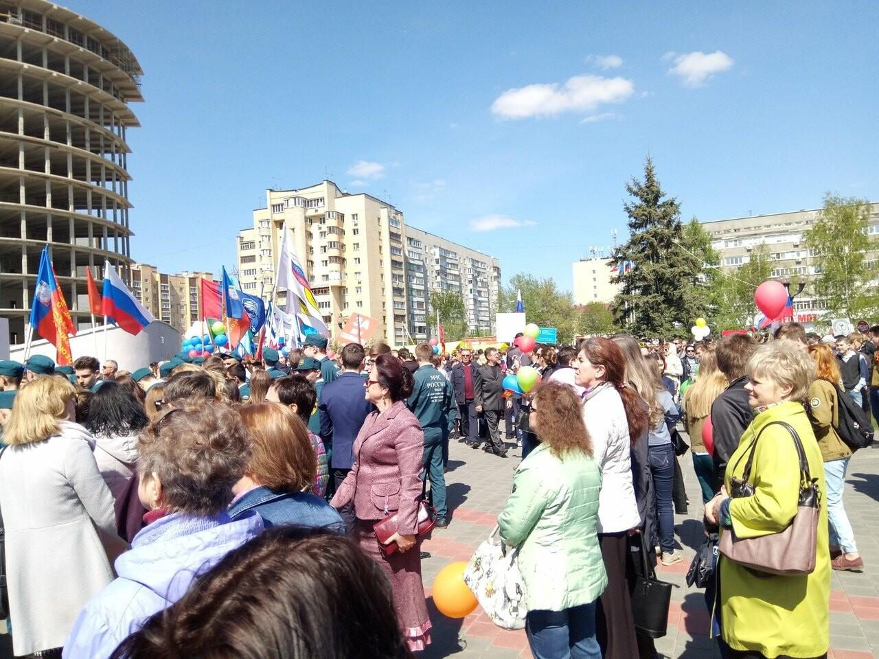 В Тамбове на первомайскую демонстрацию вышли более 22 тысяч человек, фото-5