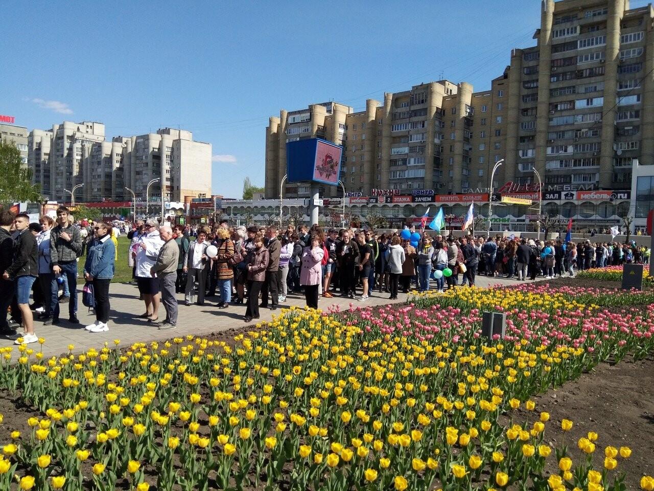 В Тамбове на первомайскую демонстрацию вышли более 22 тысяч человек, фото-3