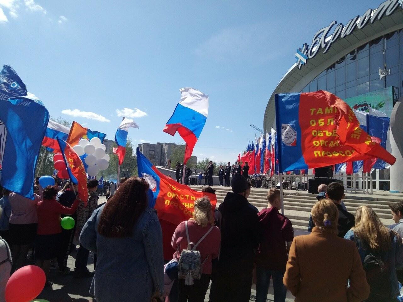 В Тамбове на первомайскую демонстрацию вышли более 22 тысяч человек, фото-6
