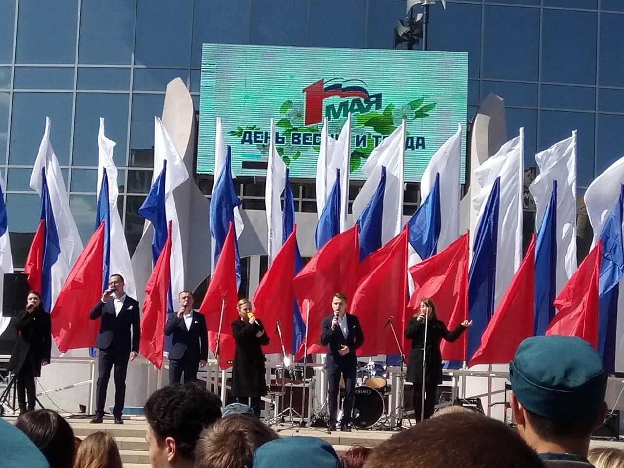 В Тамбове на первомайскую демонстрацию вышли более 22 тысяч человек, фото-7