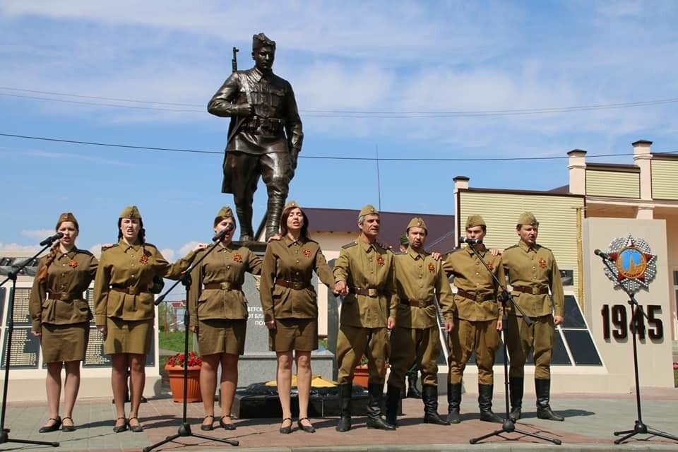 В Моршанском районе открыли новый мемориал воинам-землякам, погибшим в годы Великой Отечественной, фото-2