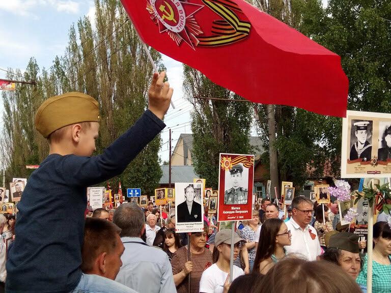 Почти 70 тысяч тамбовчан приняли участие в шествии «Бессмертного полка», фото-1