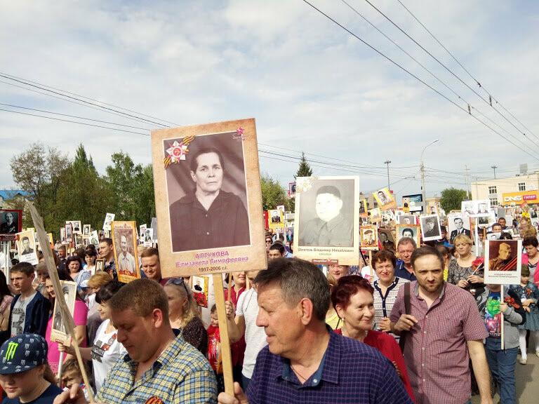 Почти 70 тысяч тамбовчан приняли участие в шествии «Бессмертного полка», фото-2