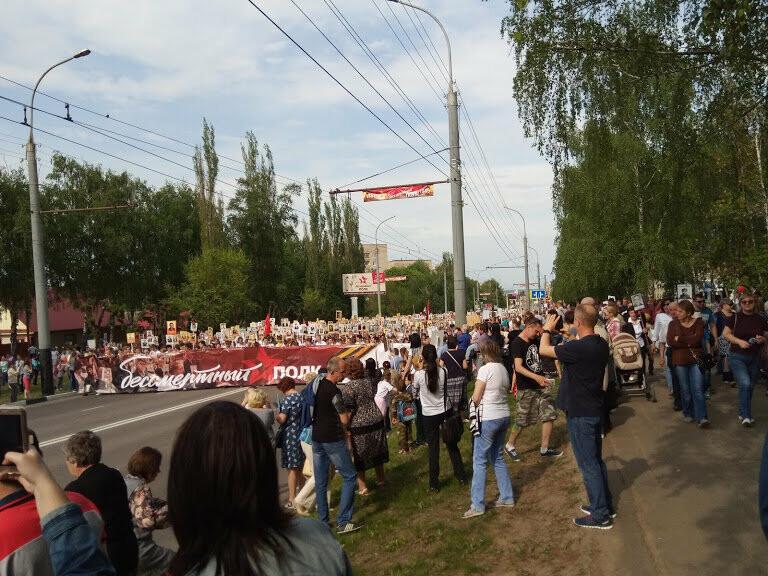 Почти 70 тысяч тамбовчан приняли участие в шествии «Бессмертного полка», фото-5