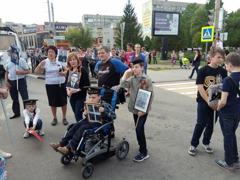 Почти 70 тысяч тамбовчан приняли участие в шествии «Бессмертного полка», фото-8